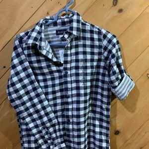 Children's Place boys plaid shirt